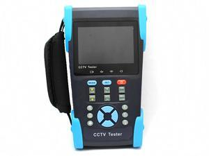 "3.5"" LCD CCTV Tester for IP & Analog camera testing with function of PTZ, UTP Cable Test, POE Test"