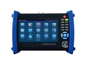 7 Inch Touch Screen 1080P HDMI IP Camera Tester/POE,WIFI, UTP Cable scan, Ping Test