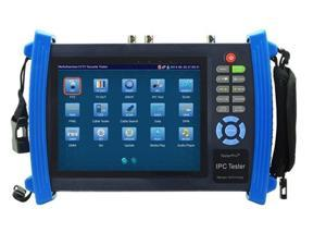 7 Inch Touch Screen 1080P HDMI IP Camera Tester/POE, WIFI, UTP Cable scan, Ping Test, AHD Camera Test