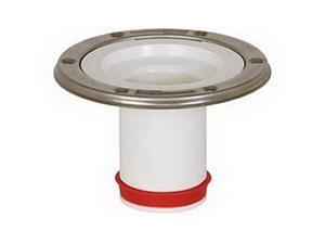 "Sioux Chief 888 Push-Tite 3"" Push-In Open Closet Flange, PVC"