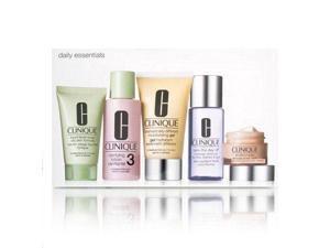 Clinique Daily Essentials 5 Piece Set Combination to Oily Skin
