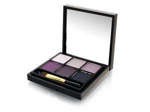 MAC Beauties Tartan Tale 6 Eye Shadow Palette Play It Cool Set