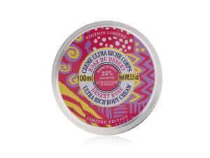 L'Occitane Ultra Rich Body Cream Limited Edition Desert Rose 100ml/3.5oz