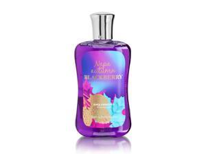 Bath Body Works Napa Autumn Blackberry 10.0 oz Shower Gel