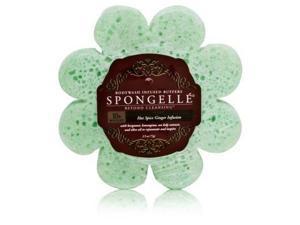 Spongeables Spongelle Bodywash Infused Sponge (Green Daisy) 10+ Uses