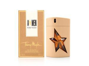 Angel Men Pure Wood by Thierry Mugler 3.4 oz EDT Spray Limited Edition
