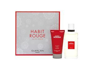 Habit Rouge by Guerlain 2 Piece Set