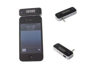 Wireless 3.5mm In-car Wireless Fm Transmitter for iPhone 4S 5 iPod Touch Samsung Galaxy S2 S3 S4 Note2 MP3