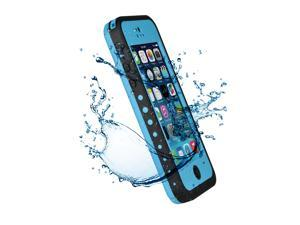 Premium Waterproof Case Shock Dirt Snow Proof Durable Rugged Hard Cover For Apple iPhone 5C-Blue
