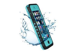 Premium Waterproof Case Shock Dirt Snow Proof Durable Rugged Hard Cover For Apple iPhone 5C-Aqua Blue