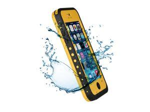 Premium Waterproof Case Shock Dirt Snow Proof Durable Rugged Hard Cover For Apple iPhone 5C-Yellow