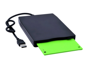 "New Portable Slim 3.5"" USB 1.44MB External Floppy Drive Disk for PC Laptop Desktop Windows 2000/ XP/ Vista/ Win 7 Data Storage"