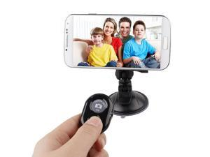 Black Wireless Bluetooth 3.0 Camera Remote Shutter Release Self Timer for IOS and Android Smartphones, iPhone 5 5c 5s iPad iPod Touch Samsung Galaxy S2 S3 S4 Nexus 4 5 7 HTC One M8 Sony etc.