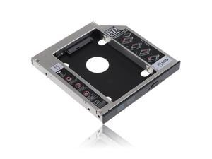 12.7mm SATA to SATA 2nd HDD HD Hard Drive Caddy For HP, DELL, Sony, Toshiba, ASUS, Fujitsu, Acer etc.