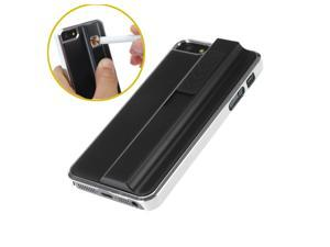 New Stylish Hard Case with USB Rechargeable Cigarette Lighter Phone Shell For iPhone 5 5S