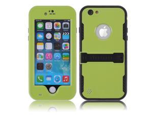 Green Premium Durable Waterproof Case Shockproof Dirtproof Snowproof Rainproof Case Cover with Stand for iPhone 6 4.7 inch - Touch ID Support & Fingerprint Identification