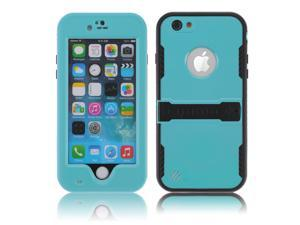 Baby Blue Premium Durable Waterproof Case Shockproof Dirtproof Snowproof Rainproof Case Cover with Stand for iPhone 6 4.7 inch - Touch ID Support & Fingerprint Identification
