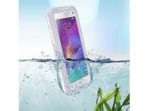 White High-grade Waterproof Shockproof Dirt Snow Proof Durable Case Cover for Samsung Galaxy Note 4
