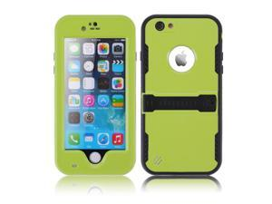 """Green Premium Durable Waterproof Case Shockproof Dirtproof Snowproof Rainproof Case Cover with Stand for iPhone 6 Plus 5.5"""" - Touch ID Support & Fingerprint Identification"""