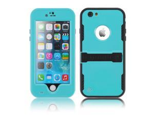"""Baby Blue Premium Durable Waterproof Case Shockproof Dirtproof Snowproof Rainproof Case Cover with Stand for iPhone 6 Plus 5.5"""" - Touch ID Support & Fingerprint Identification"""