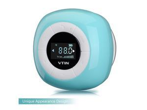 Vtin Wireless Bluetooth 4.0 FM Radio Digital Tuner LCD Display Portable Speaker - 8 Hours Super Long Li-ion Battery Crystal Clear Sound - For Smartphones - For Shower/Home/Outdoor