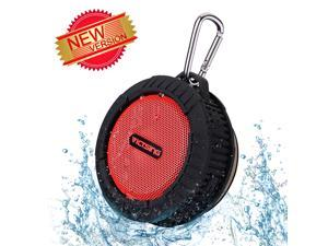 VicTsing® Waterproof Shower/Outdoor Speaker Phoenix Wireless Bluetooth 4.0 Portable Speaker w/ 10 Hours Playing Time, 5W Strong Speaker for Outdoors/Shower for Bluetooth enabled devices