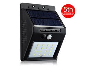 [16 LED Upgraded Version] Solar Light, VicTsing® Bright 16 LED Wireless Solar Powered Motion Sensor Light / Outdoor Waterproof Solar Energy Security Lighting Wall Light - 320 Lumens