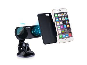 [2-in-1] VicTsing Universal Dual Powerful Magnetic Car Phone Holder Mount Cradle Dashboard Windshield Dock Stand Docking Station Bracket Holder for Apple Watch, iPhone 6, iPhone 6 plus & Other Mobile
