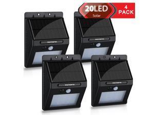 VicTsing 20LED Solar Panel Powered Motion Sensor Lamp Outdoor Light Garden Security Light 400lm
