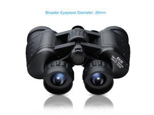 Binoculars with BAK4 Prism, 8X35mm, with Neck Strap and Bag, for Outdoor Activities, Stadium Sports, Bird-watching, Concerts, Hunting, Hiking