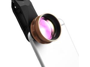 2X HDTelephoto Cell Phone Camera Lens kit, 2X Close for iPhone, Android, Smartphones