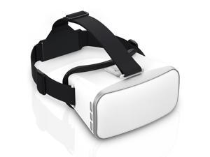"Victake Virtual Reality 3D Glasses VR headset Goggle for 3D Video Movie Game, Compatible with iPhone and Android Smartphone 4""-6.0"""