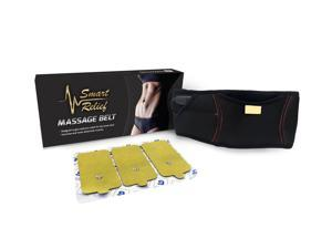 Smart Relief Ab Toner & Back Pain Relief Massage Belt - For Use with TENS Devices