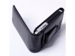 NEW OEM GRIFFIN FOLIO CASE CLACK LEATHER APPLE IPHONE 3GS IPHONE 4 4S