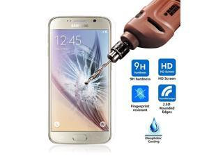 New Premium Real Tempered Glass Film Screen Protector for ATT Verizon T-Mobile Sprint SAMSUNG GALAXY S6