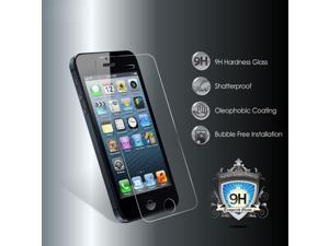 New PREMIUM BALLISTIC TEMPERED GLASS SCREEN PROTECTOR GUARD 9H HARDNESS FOR  VERIZON ATT T-MOBILE SPRINT iPhone 5 5S 5C