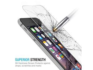 """New Premium Real Tempered BALLISTIC TEMPERED GLASS SCREEN PROTECTOR GUARD 9H HARDNESS for VERIZON ATT SPRINT T-MOBILE Apple iPhone 6 4.7"""""""