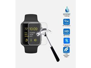 BALLISTIC TEMPERED GLASS SCREEN PROTECTOR GUARD 9H HARDNESS FOR APPLE IWATCH 38MM