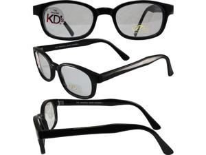 PCSUN Original KD's Biker Motorcycle Sunglasses Black Frames PHOTOCHROMIC Light Adjusting Day 2 Nite Lenses