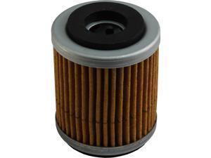 MotoFilter MF8142 Premium Oil Filter, Replaces OEM part numbers - Yamaha: 1UY-13440-01, 1UY-13440-02&#59; TM Racing: F66508