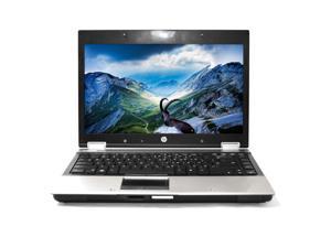 HP Silver EliteBook 8440P 14'' PC Laptop Intel i5 Dual Core 2.4GHz 8GB RAM 160GB HDD NVIDIA NVS 3100M 1366 x 768 Display Windows 10 Home 64-Bit