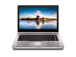 HP Silver EliteBook 8460P 14'' PC Laptop Intel i5 Dual Core 2.4GHz 8GB RAM 500GB HDD Intel HD Graphics 3000 1366 x 768 Display Windows 10 Home 64-Bit