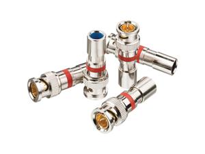 Ideal 89-047 Rg-59 Bnc Compression Connectors, 15 Pk