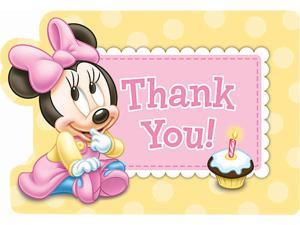 Disney Minnie 1st Thank-you Notes (8)