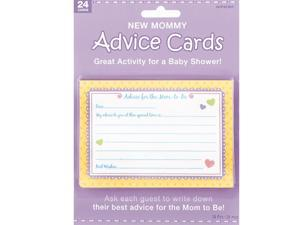 New Mommy Advice Cards - paper