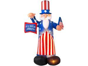 Airblown Inflatable Uncle Sam - Nylon 100