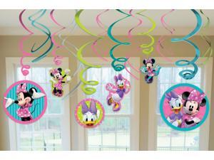 Disney Minnie Mouse Hanging Swirl Value Pack - Multi-colored