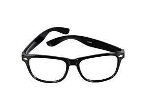 Nerdy Glasses - Black - One Size