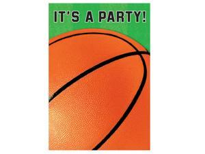 Basketball Invitations - Paper
