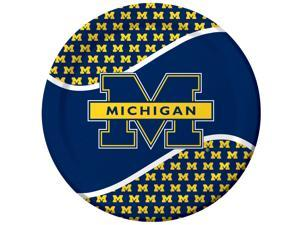 Michigan Wolverines - Dinner Plates - paper